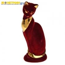 Копилка «Кошка Ася» бордовая булат