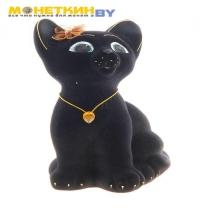 Копилка «Котенок» черный