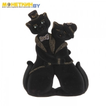 Копилка «Коты пара танго» черный