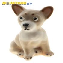Копилка «Собака Чихуахуа» малая бежевый
